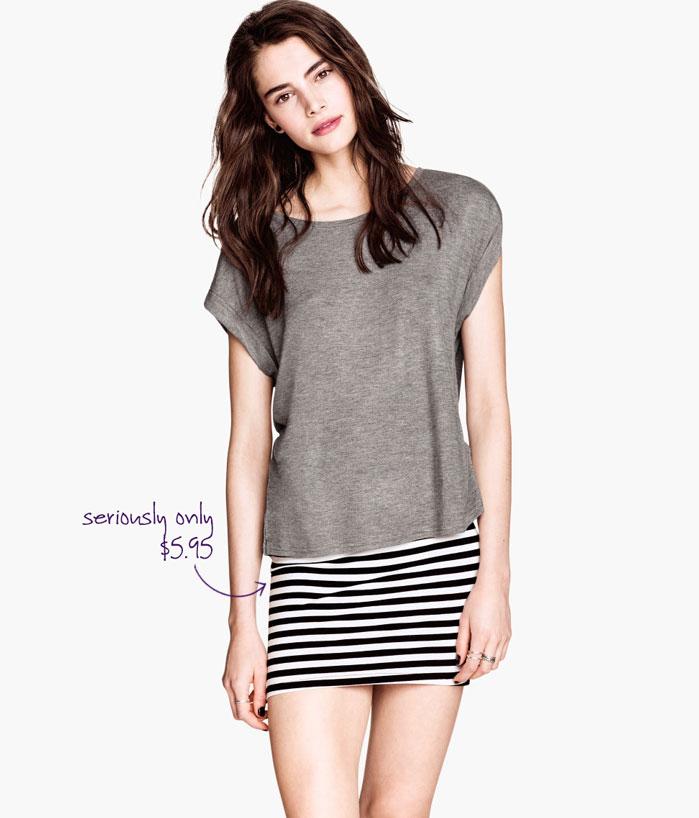 H&M Jersey Shirt, $5.95