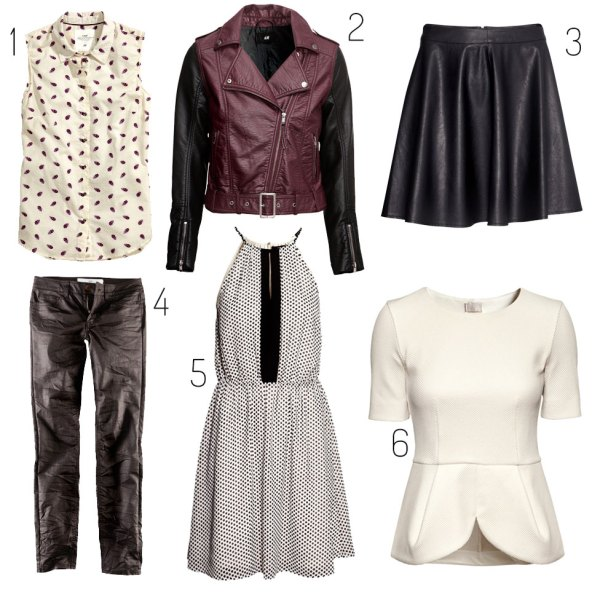 H&M Wish List