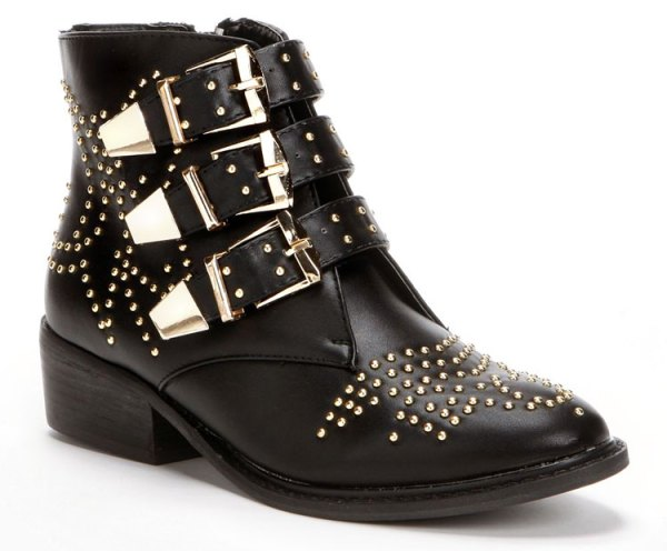 Sugar Studded Ankle Boots
