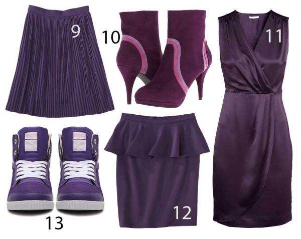 Purple Obsession: Violet Fashion & Accessories