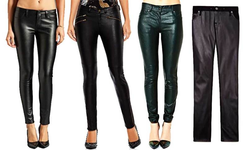 Budget Faux Leather Pants