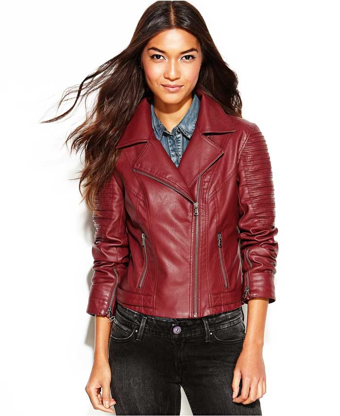 Levis Faux Leather Moto Jacket