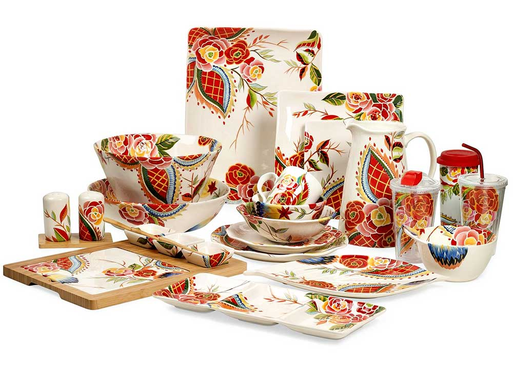 Folksy Rose Dishware from Vida by Espana u2022 Broke and Beautiful. Folksy Rose Dishware From Vida By Espana Broke And Beautiful  sc 1 st  Best Image Engine & Amazing Espana Dinnerware Sets Photos - Best Image Engine ...
