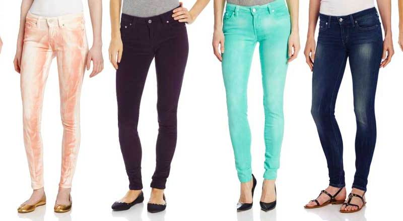 052641ba Levi's 535 Jeggings: An Affordable Denim Rainbow • Broke and Beautiful