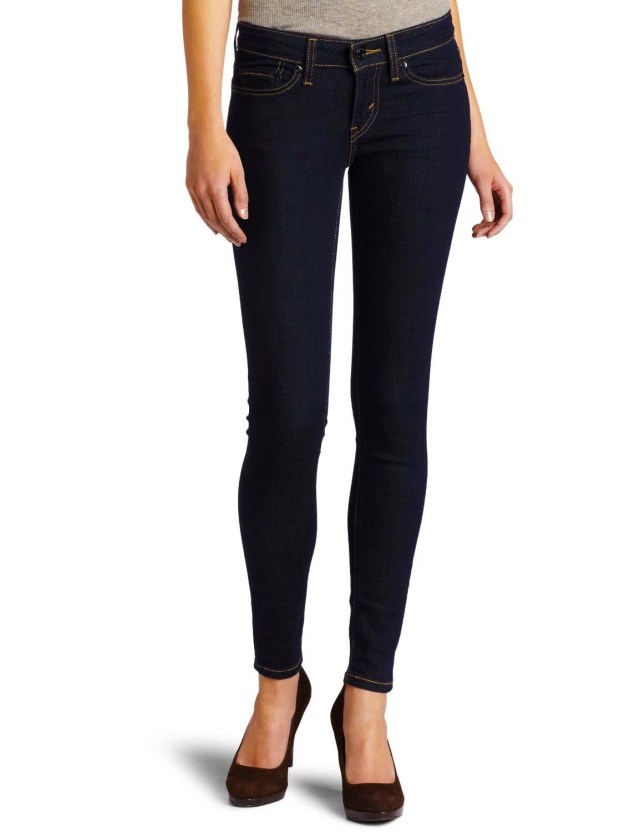 Levis 535  Jean Leggings in Night Out