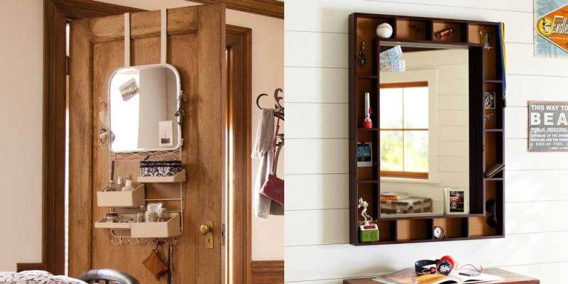 #PBDorm Wall Storage Solutions