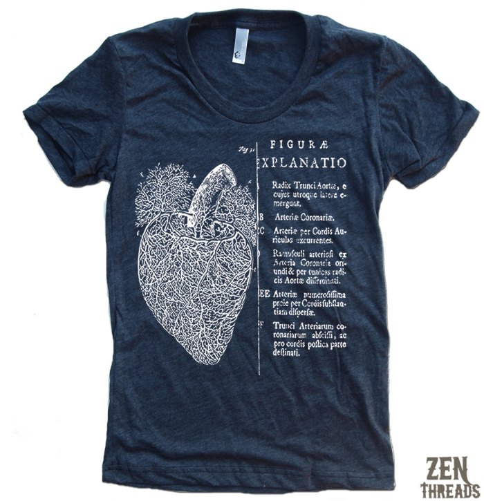 Graphic Tee Club: Anatomical Heart Graphic Tee