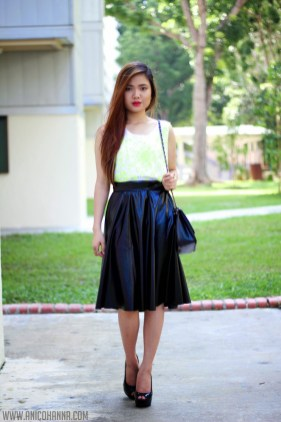 2f9c1ff4a How To Wear: The Leather Midi Skirt • Broke and Beautiful
