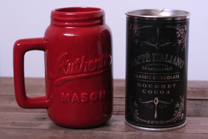 Cocoa & Mason Jar Mug Gifts from TJ Maxx