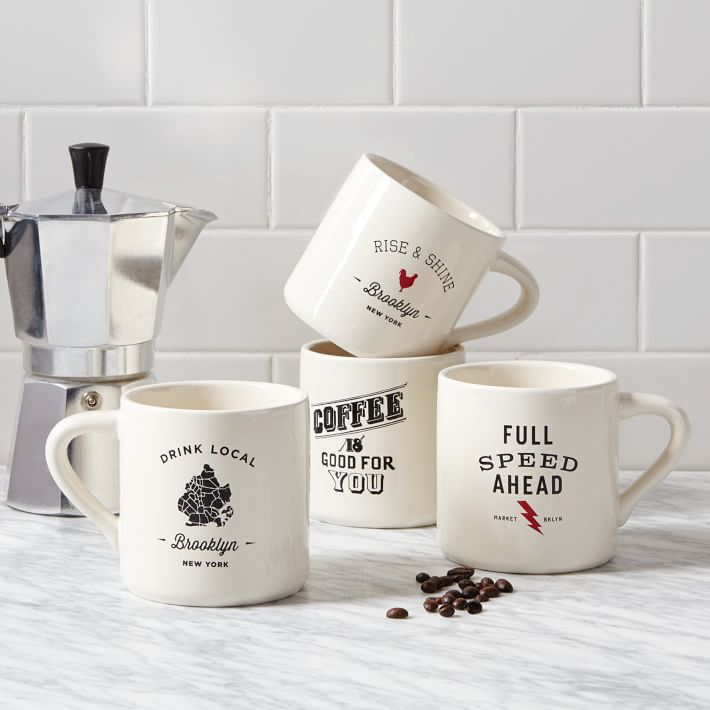 West Elm Coffee Mugs