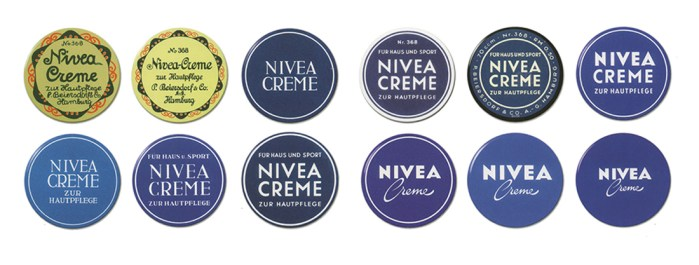 NIVEA Creme package design