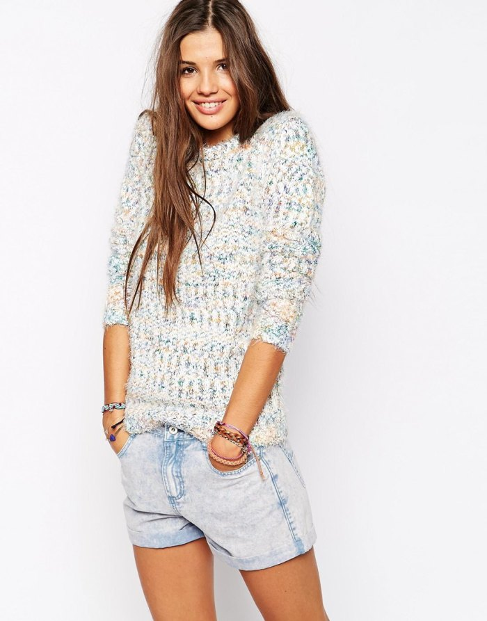 Bellfield Eyelash Sweater
