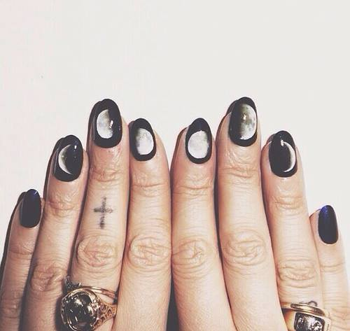 Moon Phases Nail Wraps