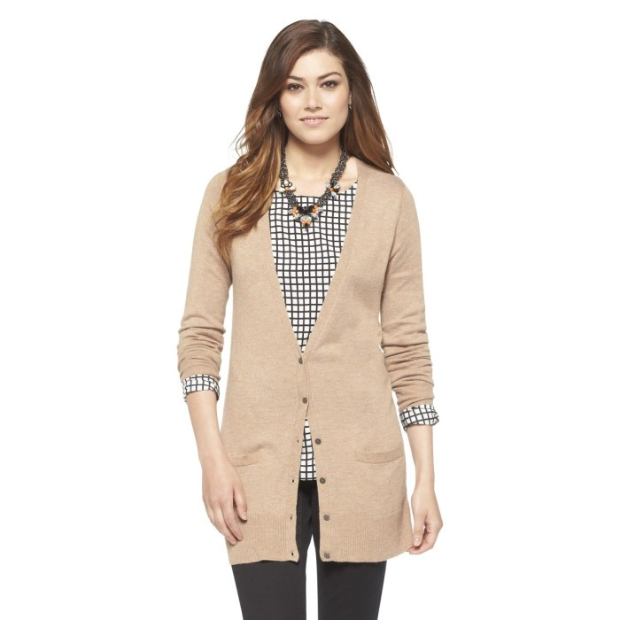 Ultrasoft Boyfriend Cardigan - Tan