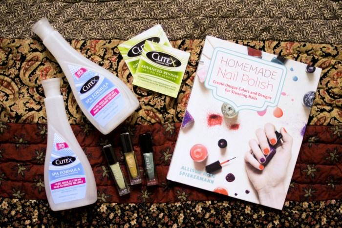 Homemade Nail Polish Book & Kit Giveaway