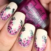 diy floral nail art inspiration