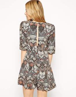 ASOS Romper in Vintage Print, $40.50 (was $68)