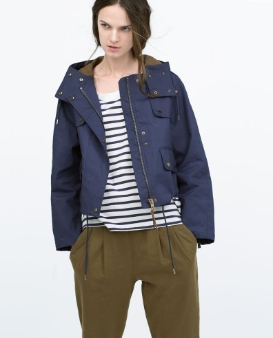 Short Jacket with Pockets, $64.50 (was $129)