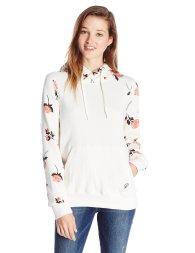 Volcom Floral Roses Hoodie Summer Sweatshirt