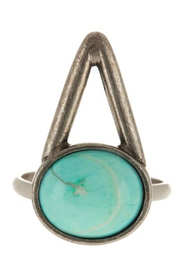 The 2Bandits The WAll Turquoise Ring