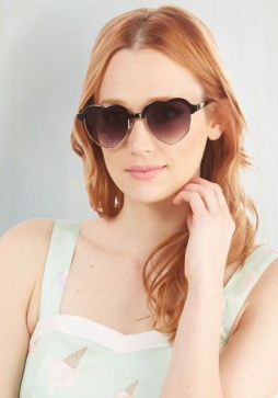 Amour Than A Feeling Sunglasses, $11.99 (were $19.99)