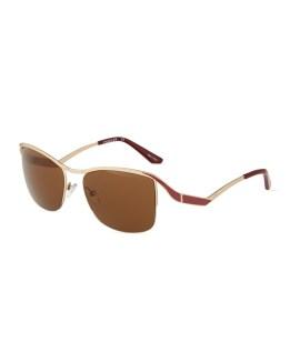 Thierry Mugler Bronze & Red Sunglasses, $41.30 (were $59)