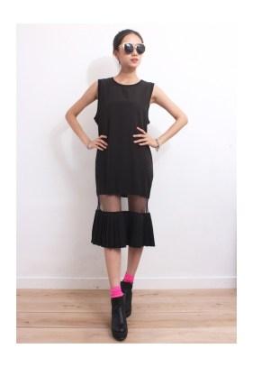 Drive Store Mesh Insert Dress, $52.81