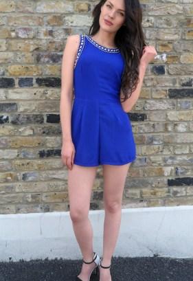 Mademoiselle Belle UK Embellished Jumpsuit, $37.72