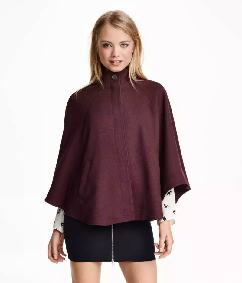 H&M Textured Cape, $34.99
