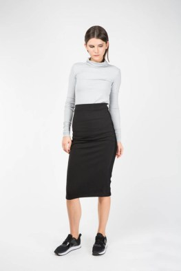3-14 High Waist Pencil Skirt