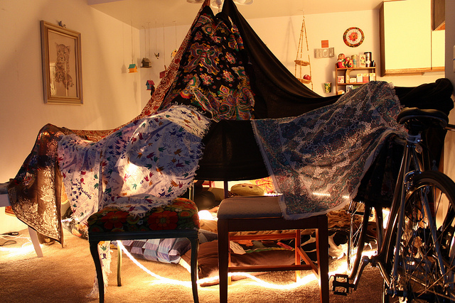Tapestry Fort by Kristen Drozdowski