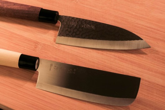 Japanese Steel knives from Marshalls