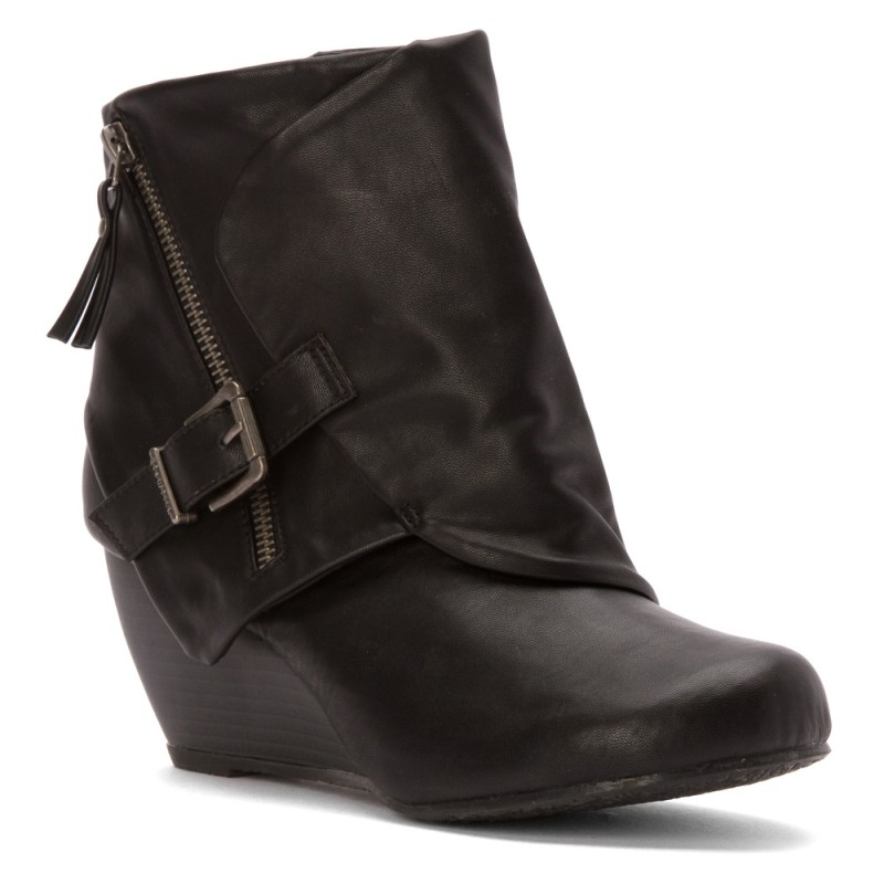 Blowfish Bilocate Wedge Ankle Boot