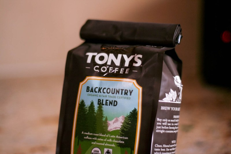 cold brew coffee tony's fair trade seattle organic beans