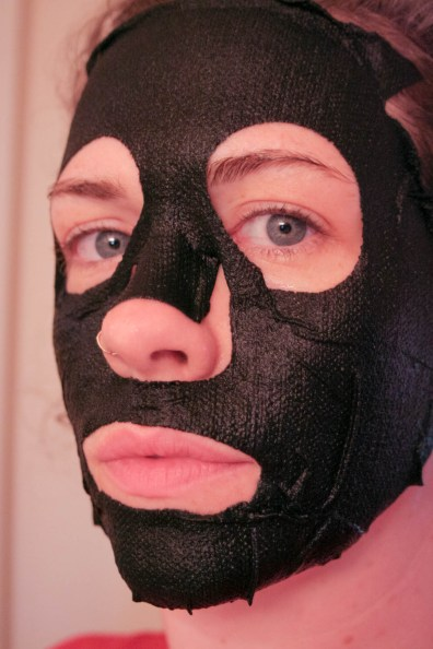 Miss Spa Bamboo Charcoal Sheet Mask-3