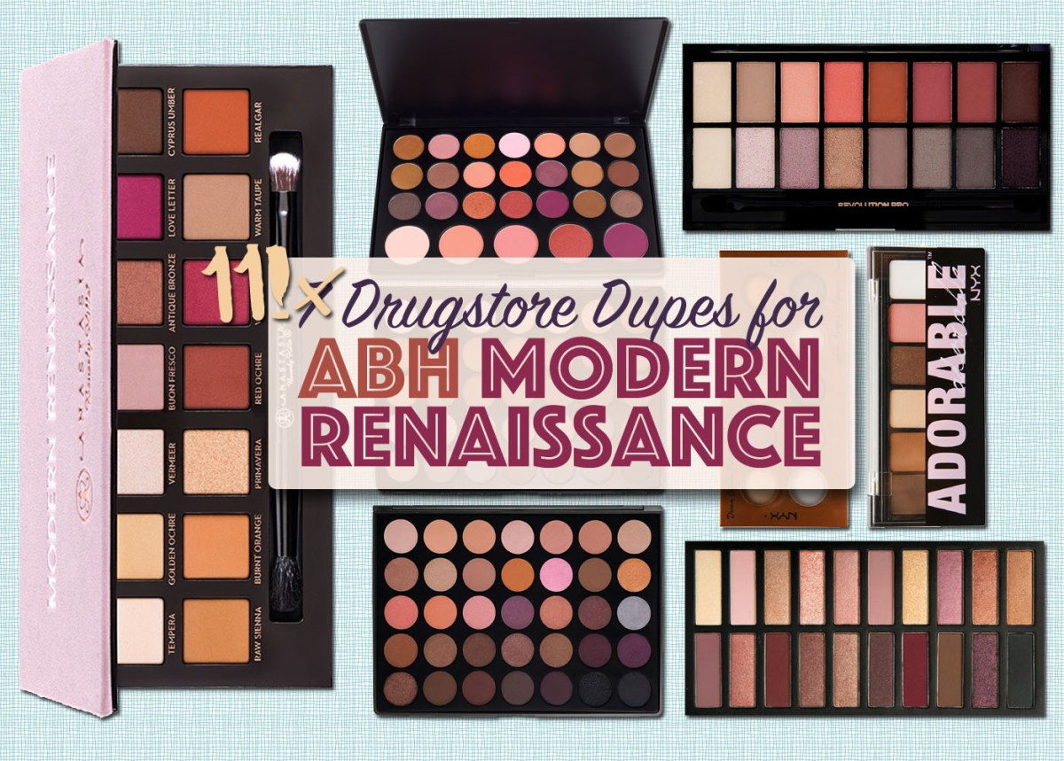11 Drugstore Dupes for the Modern Renaissance Palette
