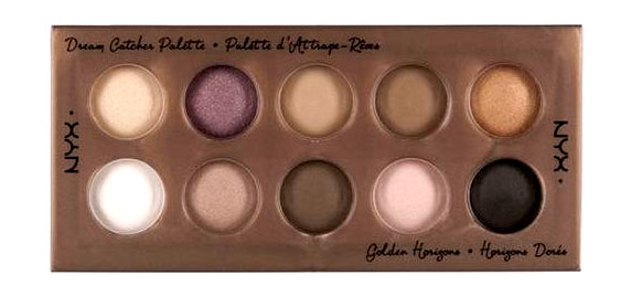 NYX Dream Catcher Eyeshadow Palette Golden Horizons