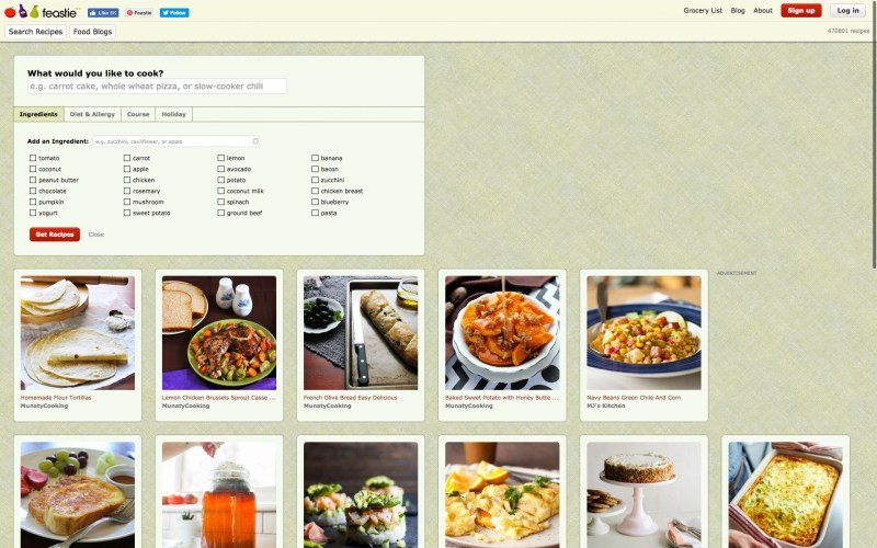 2 amazing recipe websites for budget meal planning feastie recipe ingredients website demo forumfinder Image collections