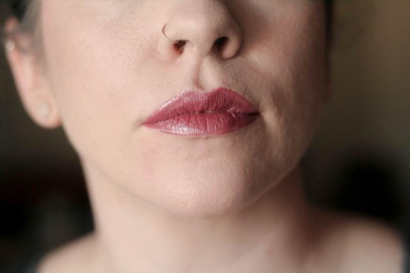 metallic brick rose vice lipstick palette swatch