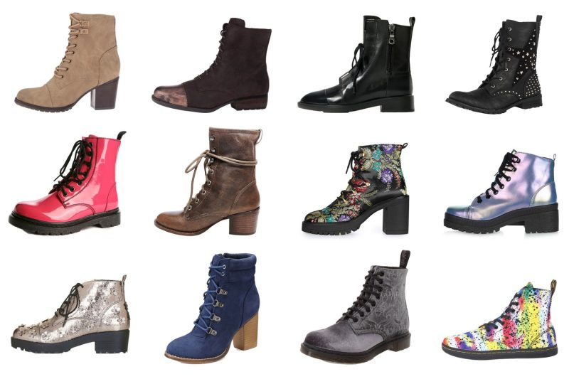 Affordable Combat Boots: Fall/Winter Boot Trends 2016