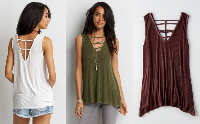 American Eagle Soft Ribbed Jegging Tank