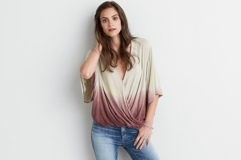 America Eagle Soft & Sexy Kimono Shirt