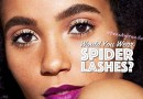 "Would You Wear: ""Chaotic"" Spider Lashes?"