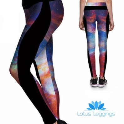 Lotus Leggings Galaxy Athletic Leggings