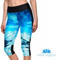 Glacier Mountain Cropped Athletic Leggings, $8.99 (reg. $49.99)
