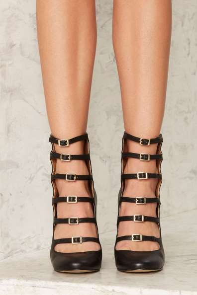 Love, Courtney by NastyGal Whiskey a Go Go Strappy Heels