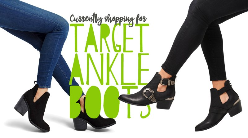 c4916d825e3 Spring Style  Currently in the Target Ankle Boot Section • Broke and ...