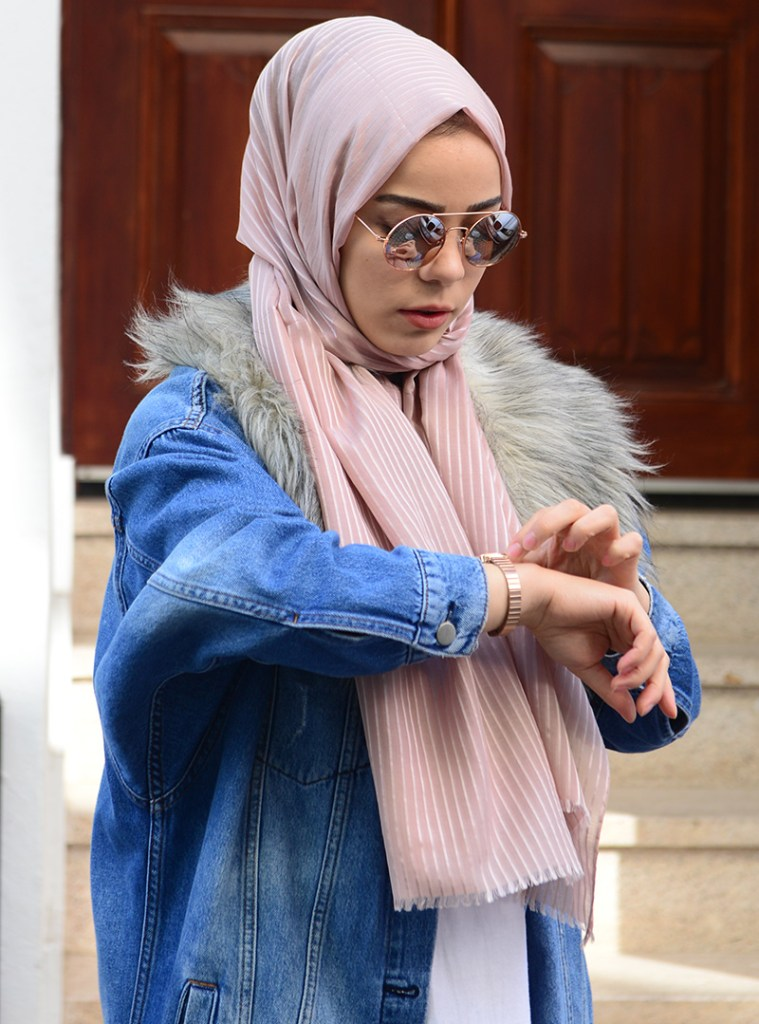 Beautiful Classic Budget Hijab Fashion Inspiration