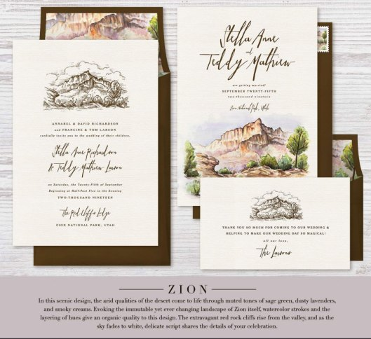 Zion National Park Foundation Greenvelope