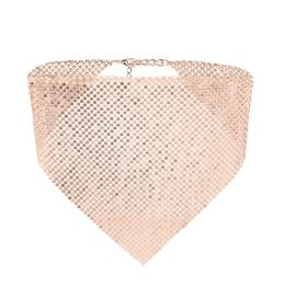 Rose Gold Chain Mail Choker, $24.88